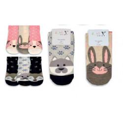 Detské ponožky zvieratká 54281