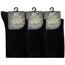 Hladké bambusové ponožky 43033