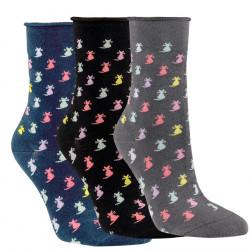 Dámske ponožky Ladycat